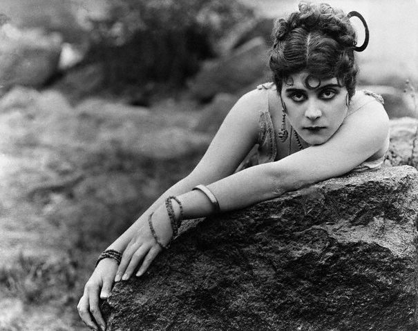 Silent Film Actress Theda Bara in