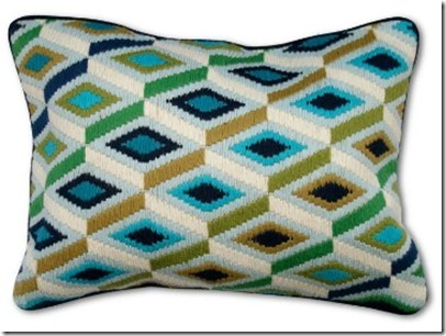 Jonathan Adler Bargello Diamonds Pillow in Bargello_thumb[1]